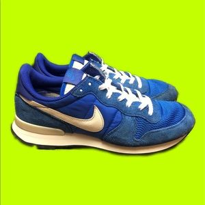 Nike Internationalist Shoes Racer Blue